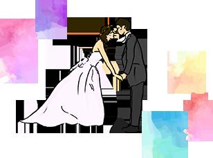 結婚式二次会・展示会で大活躍